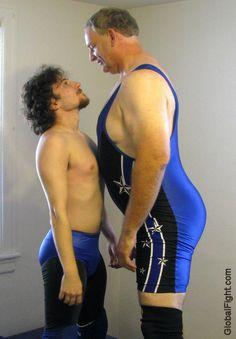 bigdad staring down wrestler staredown gallery