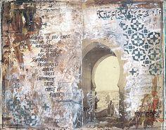 Marrakesh sketchbook by Lululaberlue Plus
