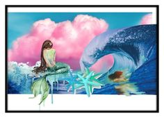 """""""Mermaids"""" by lvmud on Polyvore featuring art"""