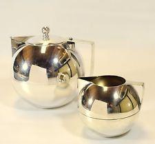 Art Deco /Machine Age Napier Tea Pot and Sugar and Creamer