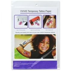 VViViD Easy-to-Apply Printable Inkjet Rub-On Temporary Tattoo Paper Pack Pack sheets)) *** Visit the image link more details. (This is an affiliate link) Tattoo Stencil Paper, Tattoo Transfer Paper, Temporary Tattoo Paper, Up Tattoos, Funny Tattoos, Small Tattoos, Temp Tattoo, Tattoo You, Non Permanent Tattoo