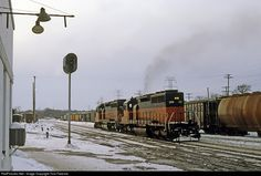 RailPictures.Net Photo: MILW 149 Chicago, Milwaukee, St. Paul & Pacific EMD SD40-2 at Portage, Wisconsin by Tom Farence