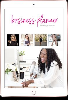 """This month's Pop Up Planner is…THE BUSINESS PLANNER What if selling your own pretty planners onlinewas as easy as""""Click – Download – Happily Cash In?"""" Planner Template, Printable Planner, Printables, Make Your Own Logo, Babe, Etsy Seo, Business Planner, Adobe Indesign, Deck Of Cards"""