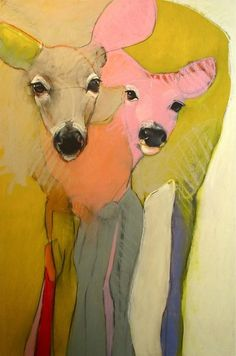 """""""Madonna and Child"""" oil on panel 36"""" x 24"""" $2900 Rebecca Haines"""