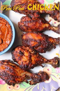 This chicken was on my mind for quite a long time. I love all kind of baked or roast chicken recipes. They are easy to make, pretty heal...