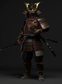Samurai Concept, Armor Concept, Concept Art, Samurai Drawing, Samurai Artwork, Armadura Medieval, Japanese Culture, Japanese Art, Kabuto Samurai