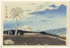 Tokuriki Tomikichiro: Fuji from Fujimi Tableland