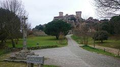 Castillo moterrei Sidewalk, Castles, Side Walkway, Walkway, Walkways, Pavement