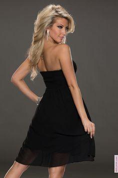 Robes courtes femme Noir taille 38, achat en ligne Robes courtes femme sur MODATOIGLAMOUR