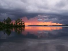 Passing Fury by Matthew Skogen on Capture Minnesota // Some times beauty is bred from chaos, as evidenced by this storm in the BWCA.