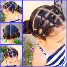 4 of July hair ideas