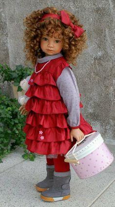Авторская кукла Daria от Ангелы Суттер (Angela Sutter)