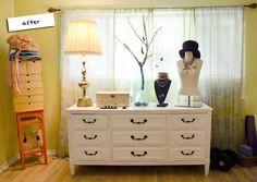 Mr. Kate   DIY Simple Upcycled Dresser