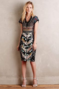 Margot Pencil Dress - anthropologie.com