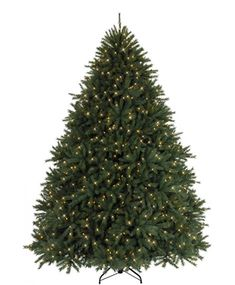 Add a remarkable centerpiece to your home this holiday season with our pre-lit Majestic Balsam Fir Christmas Tree.