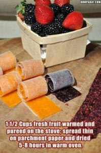 The WHOot handy tips. What to do when there's more fresh fruit than we can eat.