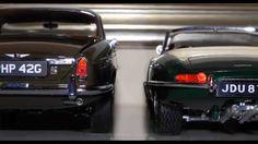 1- Jaguar XJ 220 british racing green - Maisto 2- Jaguar XJ-S (1975) blue - Yat Ming 3- Jaguar XJ6 4.2 (1968) sable brown - Paragon 4- Jaguar E cabriolet (1961) green - Burago 5- Jaguar XK8 (1996) green - Maisto 6-Jaguar XK 180 Concept - Maisto