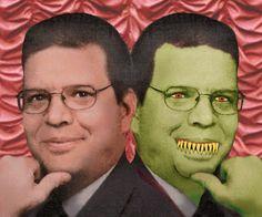 Horror writer Mike & Vampire Mike