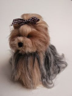 Needle felted Yorkshire Terrier :) Love, Mrs Plop