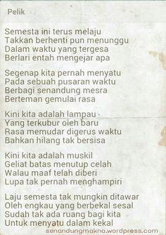 Pelik #quotes #puisi #Indonesia