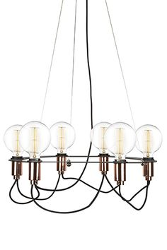 Cables from Globen Lighting | Design: Patrick Hall