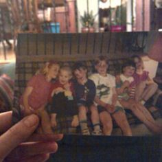 The siblings and cousins I grew up with; by Erin Weaver