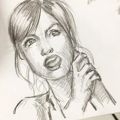 Treino treino treino... e você já treinou desenho hoje? #eudesenho #treino #sketch #estudo #mulher #desenho #drawing #rosto #face #sketchbook #aprendaadesenhardozero