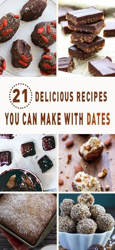 21 Delicious Recipes