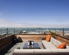 Sensational Roof Deck Design for Home: Fascinating Modern Rooftop Patio  Russian Hill Roof Deck ~