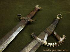 Postapocalyptic larp weapons by BloodworxSander.deviantart.com on @DeviantArt