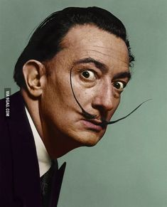 salvador dali portrait Picture of Salvad - portrait Salvador Dali Tattoo, Salvador Dali Kunst, Salvador Dali Paintings, Salvador Dali Quotes, Pintura Wallpaper, Inspiration Tattoos, Tattoo Ideas, Influential People, Art History