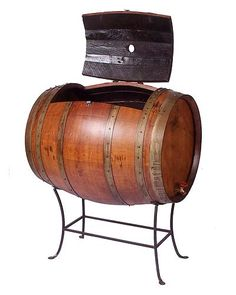This site is so cool for unique gift ideas. A wine barrel cooler!!