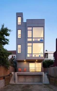 Narrow Home Designs - slim, tall and eco-friendly in San Francisco ...