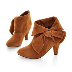 Fashion Bow Reflexed Design Ankle Boots @ Boots Shoes:Womens Fashion Boots,Winter Boots,Riding Boots,Cowboy Boots,Cheap Boots,Ladies Fashion Boots,Girls Sexy Boots,Dress Boots,Knee High,Short,Ankle Boots,Black Boots,Wedge Lace Up Booties Shoes On Sale at Maykool.com