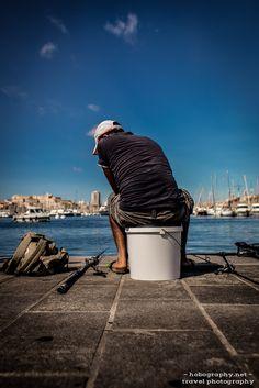 Marseille, Vieux Port.