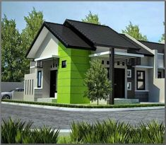 Desain Rumah 2 Teras Affordable Bedroom Sets, Affordable House Plans, Paint Colors For Living Room, High Quality Wallpapers, House Roof, Minimalist Home, Home Decor Bedroom, Feng Shui, Furniture Design