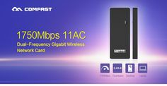 COMFAST usb wifi adapter 600mbps~1750mbps 802.11ac/b/g/n 2.4Ghz + 5.8Ghz Dual Band wi-fi dongle computer AC Network Card Series   Read more at Electronic Pro Market : http://www.etproma.com/products/comfast-usb-wifi-adapter-600mbps1750mbps-802-11acbgn-2-4ghz-5-8ghz-dual-band-wi-fi-dongle-computer-ac-network-card-series/