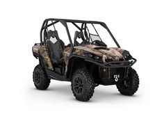 New 2016 Can-Am Commander XT 1000 Camo ATVs For Sale in California. Loaded with features and technology that take value to a new level, the Commander XT is built with best-in-class power, a versatile dual-level cargo box, and rider-focused features perfect for the job site or the trails.
