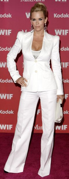 The Power Suit in white