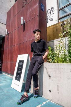 Model : Kim Min Jong (YG Kplus)