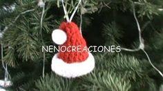 chaussette noel crochet - YouTube