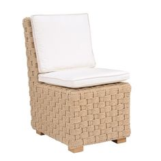 Kingsley-Bate: Elegant Outdoor Furniture. St. Barts dining side chair