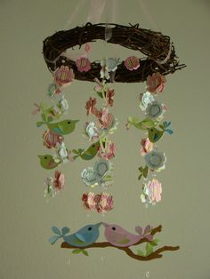 Love Bird Baby Mobile with Wreath by magicalwhimsy on Etsy. http://www.etsy.com/listing/61502854/love-bird-baby-mobile-with-wreath?ref=sr_gallery_14_includes[0]=tags_exact_search_query=mobile+baby+bird_search_type=all_page=5_view_type=gallery