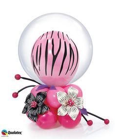 Centerpiece Balloon Topiary, Balloon Basket, Balloon Gift, Balloon Flowers, Balloon Columns, Balloon Bouquet, Balloon Arch, Balloon Ideas, Ballon Decorations