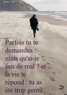 """""""Sometimes you ask, but what did I do wrong (or that was so bad)? and Life replies: you were too nice. et tu peux pas être méchant sinon ça te retombe dessus en plus Citation Silence, Silence Quotes, Citation Zen, Change Quotes, Love Quotes, Inspirational Quotes, The Words, Positive Attitude, Positive Quotes"""