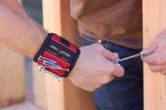 Guy Gift Alert: Magnetic Wristband only $6.98!