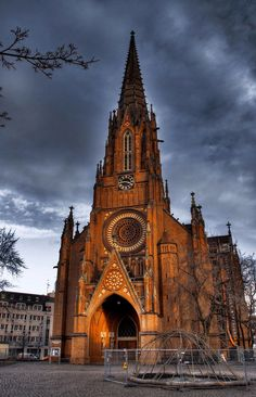 Die Christuskirche in Hannover- Leibniz Universitat, Hannover, Germany, Summer Academy