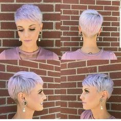 Today we have the most stylish 86 Cute Short Pixie Haircuts. We claim that you have never seen such elegant and eye-catching short hairstyles before. Pixie haircut, of course, offers a lot of options for the hair of the ladies'… Continue Reading → Short Hair Cuts For Women, Short Hairstyles For Women, Very Short Haircuts, Super Short Hair, Pixie Hairstyles, Curly Hair Styles, Hair Beauty, Pixie Cuts, Short Blonde Pixie
