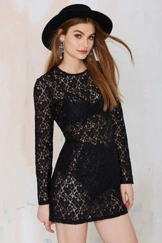 After Party Vintage Viola Lace Dress   Shop Clothes at Nasty Gal!