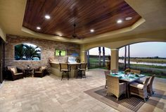 Luxury Outdoor Kitchens | ... outdoor entertainment center outdoor living area outdoor kitchen and